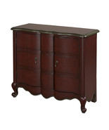 Powell Red Scalloped 2-Door Chest - $389.00