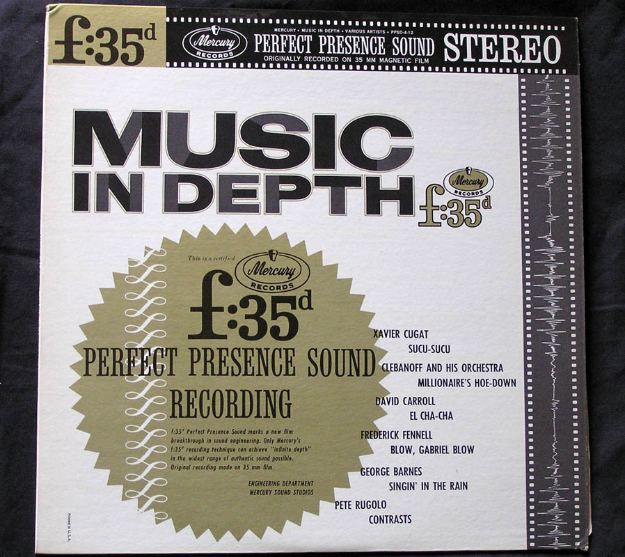 Music in Depth f:35d LP Pete Rugolo, Quincy Jones