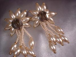 Bride pearl earrings big. back thumb200