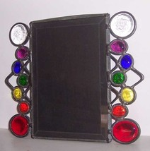 """Multi Color New Jewel Photo Frame 8X7"""" Handcrafted - $13.67"""