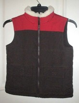Boys Gymboree Quilted and Fleece Lined Vest Sz 7-8  - $15.48