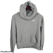 Nike Gray Funnel Neck Hoodie Pullover Mens Large BV4526-063 - $34.64
