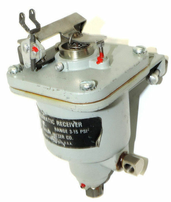 BAILEY METERS PNEUMATIC RECEIVER CLASS 8B 3-15PSI