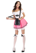 Halloween Women Beer Maid Waiter German Oktoberfest Costume - $28.27