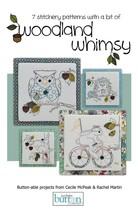 Woodland Whimsy Stitchery embroidery booklet 7 patterns JABC - $12.00