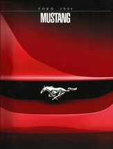 1994 Ford MUSTANG sales brochure catalog 2nd Edition 94 US V6 GT COY - $9.00