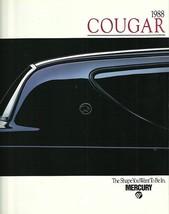 1988 Mercury COUGAR sales brochure catalog US 88 LS XR-7 - $8.00
