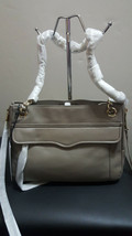 NWT Rebecca Minkoff Swing Shoulder Bag Purse Mushroom - $188.09