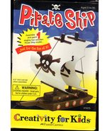 Make Your Own Pirate Ship - Craft Kits by Creativity For Kids  - $7.95