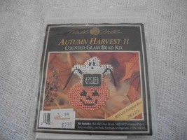 Autumn Harvest II Counted Glass Bead Kit - $5.00