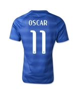 Nike Brazil 2014 OSCAR World Cup Away Soccer Jersey  - $64.99