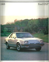 1985 Ford EXP sales brochure catalog 85 US Luxury Turbo Escort - $10.00