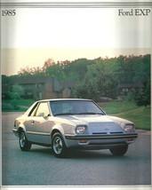 1985 Ford EXP sales brochure catalog 85 US Luxury Turbo Escort - $8.00