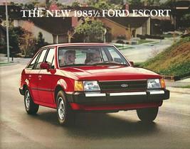 1985.5 Ford ESCORT sales brochure catalog US 85 1/2 L GL - $7.00