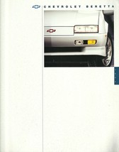 1994 Chevrolet BERETTA sales brochure catalog 94 US Z26 Chevy - $7.00