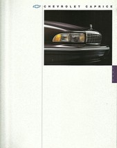 1994 Chevrolet CAPRICE CLASSIC sales brochure catalog 94 US Chevy - $8.00
