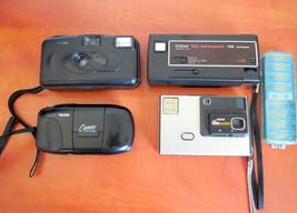 Lot(4) Kodak Vintage collectors Film Camera KB10, Cameo Motor EX, Tele I... - $49.00