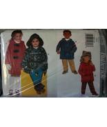 Pattern 3578 Little Kids Hooded Coat & Pants sz 2,3,4 - $5.00