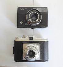 Lot(2) Agfa collectors Isola Medium Format + Optima 500 Sensor Film Camera - $40.00
