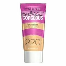 CoverGirl Ready Set Gorgeous Liquid Makeup Foundation Soft Honey 220 - $9.75