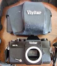 Vivitar 220 SL Camera Body Only + Case - $19.00