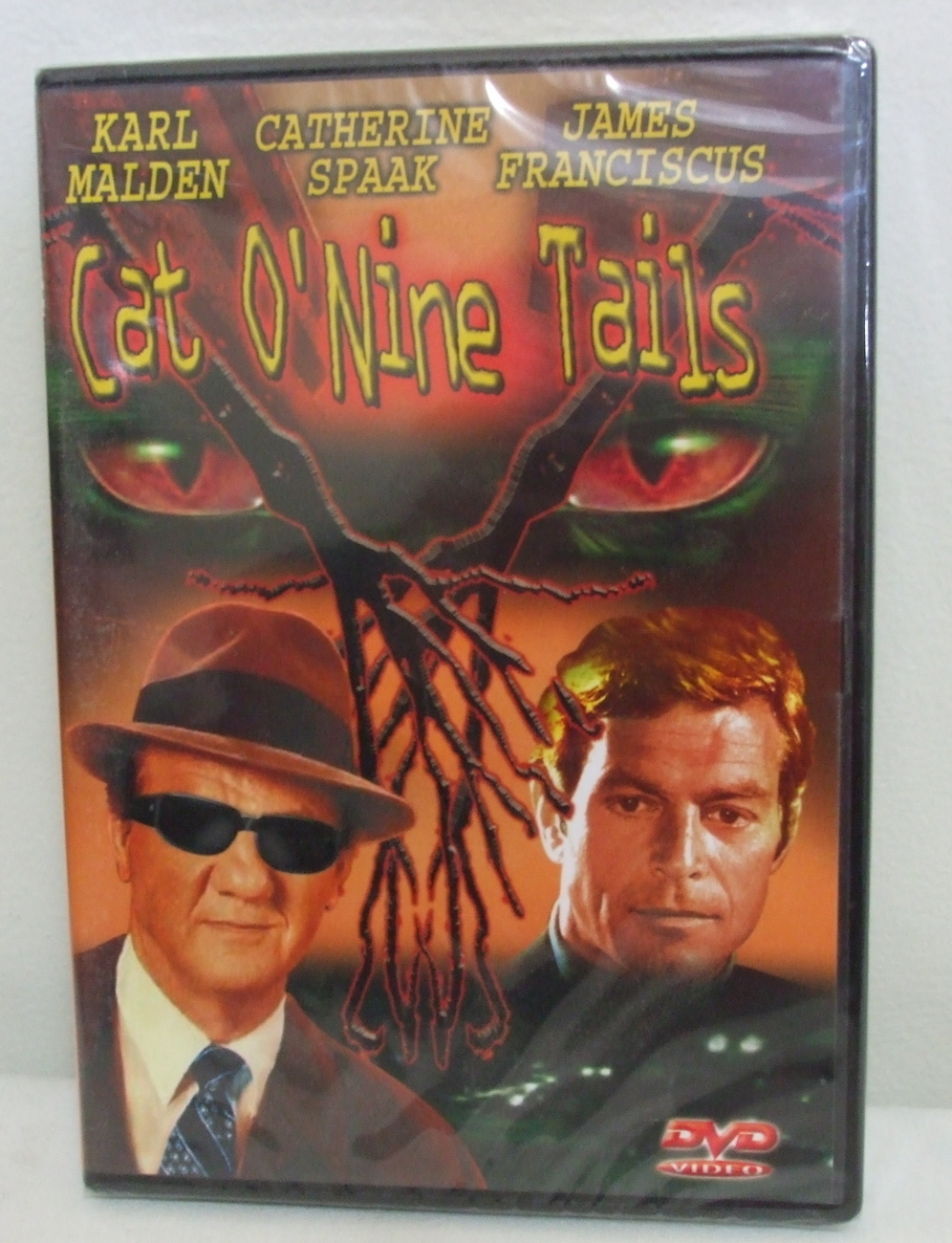 DVD New Cat ONine Tails Karl Malden and James Franciscus