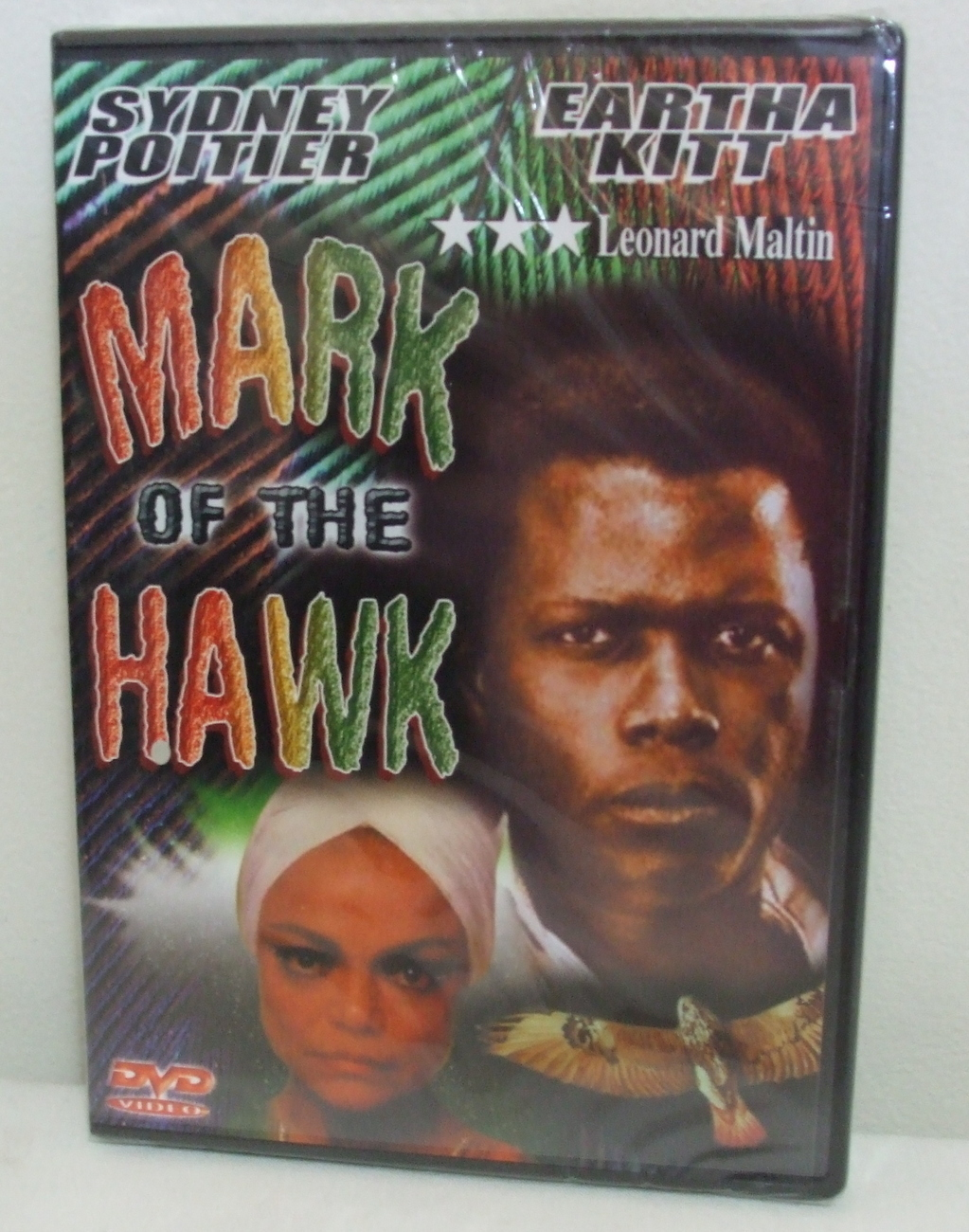 DVD New Sealed Mark of the Hawk Sydney Poitier and Eartha Kitt
