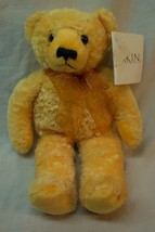 "DAKIN NICE YELLOW PINEAPPLE TEDDY BEAR 10"" Plush STUFFED ANIMAL Toy NEW - $16.34"