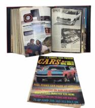 Vtg Jan-Dec 1981 Lot Bound Hot Rod Magazine High Performance Cars 1969 Binder image 5