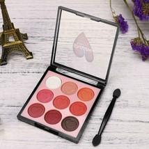 9 Color Pearl Glitter Eye Shadow Powder Palette Matt Eyeshadow Cosmetic ... - $5.99