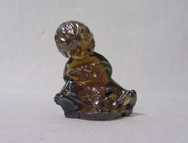 WETZEL ART GLASS IRIDESCENT AMBER CARNIVAL SONNY BOY OUR GANG FIGURINE 3... - $11.99