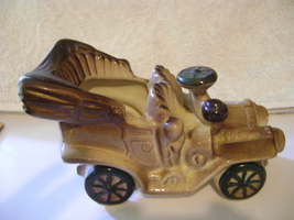 National Potteries Ceramic Model T Planter  (NAPCO) - $10.00