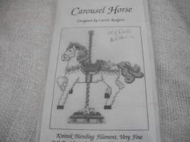Kreinik Carousel Horse Cross Stitch Kit - $6.00