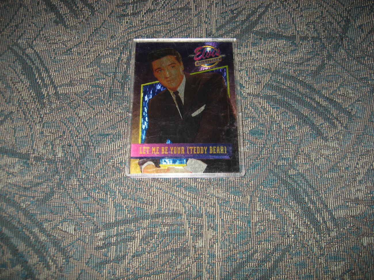 Elvis Dufex Bonus Foil Card-- 2/40--Let Me Be Your Teddy Bear
