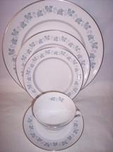 Royal Doulton LYRIC  Bowl Plates Cup & Saucer H4948 Set of 5 - $37.25