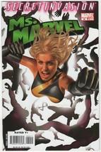 Ms. Marvel #30 NM/NM+ 2008 Comics Secret Invasion Tie-In Horn Ms Movie A... - $3.95