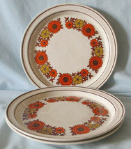 Arklow Ireland Irish Stone Shawn Salad Dessert Plate set of 3 - $45.43