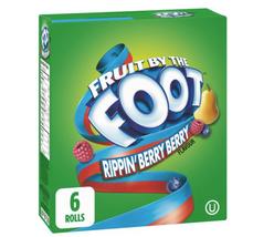 Fruit By The Foot by Betty Crocker - Rippin' Berry Berry Gluten Free (6 ... - $15.64