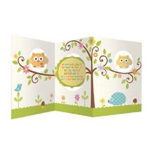 Happi Tree Baby Shower Sweet Baby Owl Decor Party Centerpiece - $6.64