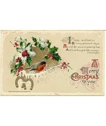 A Merry Christmas to you , Winsch  post card - $4.00