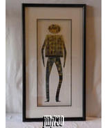 "Harris G. Strong Original Signed Framed Modern Tech Art Work Titled ""Hac... - $1,595.00"