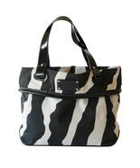 Authentic Kate Spade Lucca Maldives Zebra Tote ... - $45.00