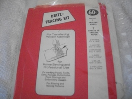 Dritz Dressmaker's Tracing Kit - $7.00