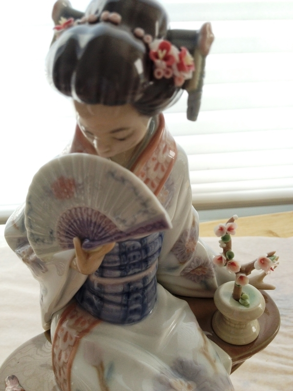Primary image for Lladro Nippon Lady # 5327 ~ Retired ~ Mint Condition