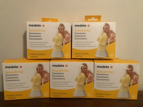 Primary image for 5x Medela PersonalFit Freestyle Flex 2 Pack Box Connectors Overflow Protection