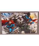 DC Superman & Supergirl vs Doomsday Glossy Prin... - $24.99