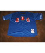 NWOT/NEGRO LEAGUES BASEBALL MUSEUM/BASEBALL JERSEY/RBG/BROOKLYN ROYAL GI... - $55.00
