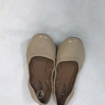 Lucky Brand Womens 7 M 37  Nude Leather Ballet Flats Slip On Shoes - $12.86