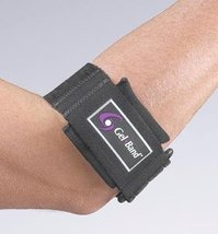 "Gel Band Arm Band. Black Size: Universal (11""-16"") - $17.95"