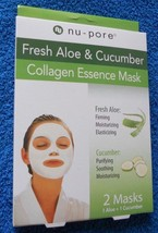 Nu Pore Nupore Fresh Aloe & Cucumber Collagen Essence    NEW - $3.89